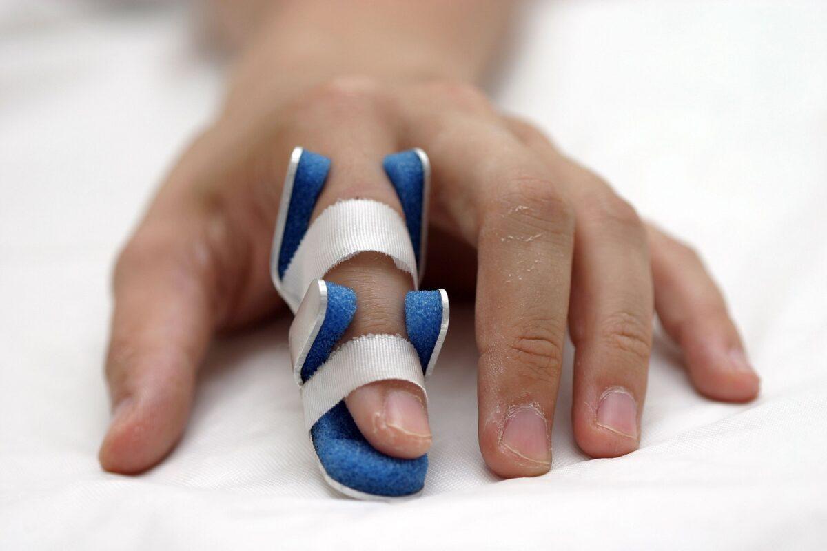 Finger numbness